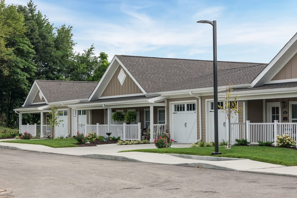 two bedroom town homes