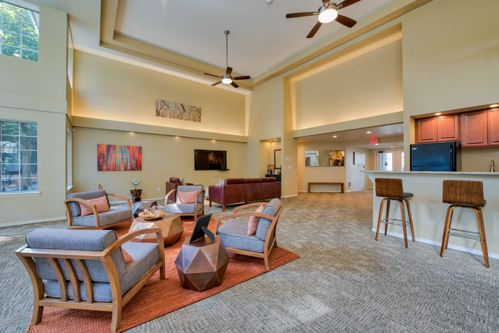 Clubhouse at Arbor Square Apartments in Olympia, Washington