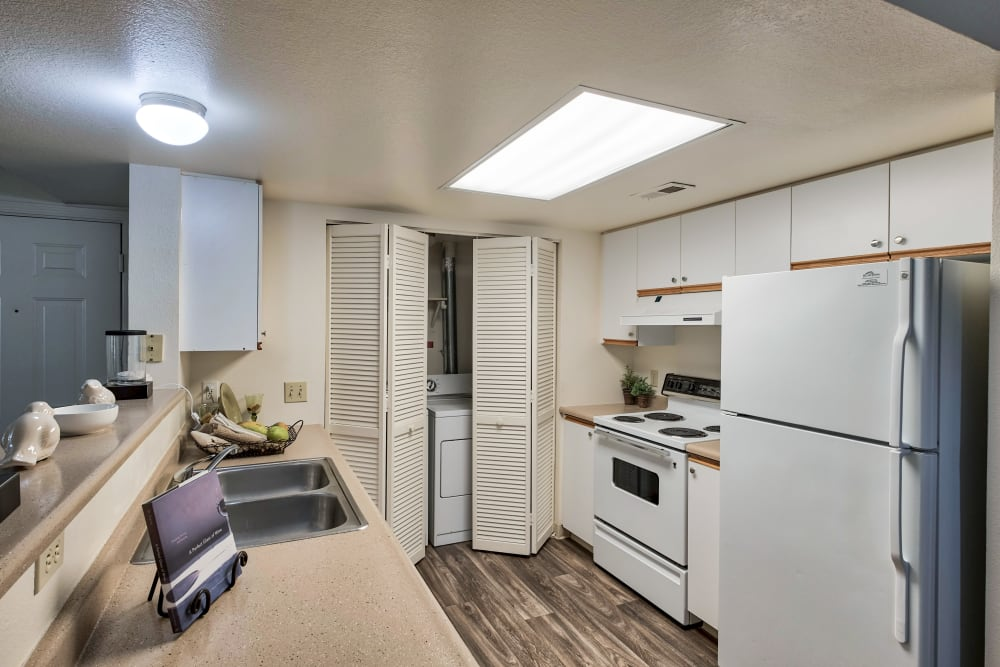 Kitchen at Arbor Crossing Apartments in Boise, Idaho
