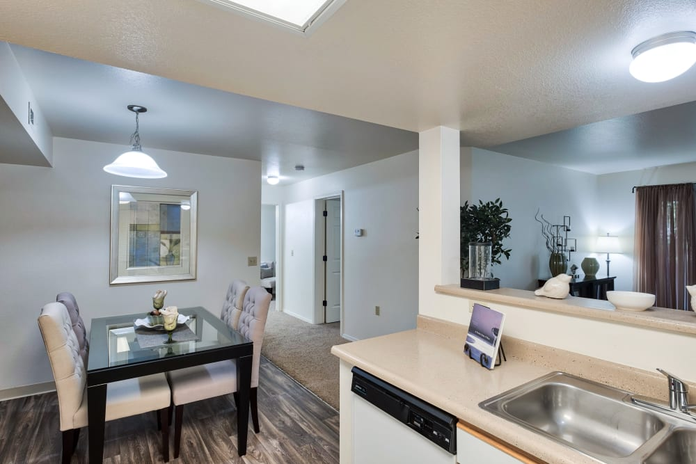Kitchen & Dining Room at Apartments in Boise, Idaho