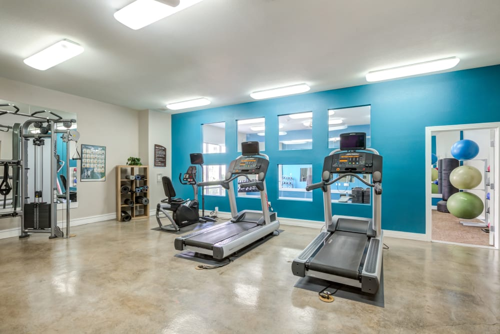 Enjoy Apartments with a Gym at Diamond at Prospect Apartments