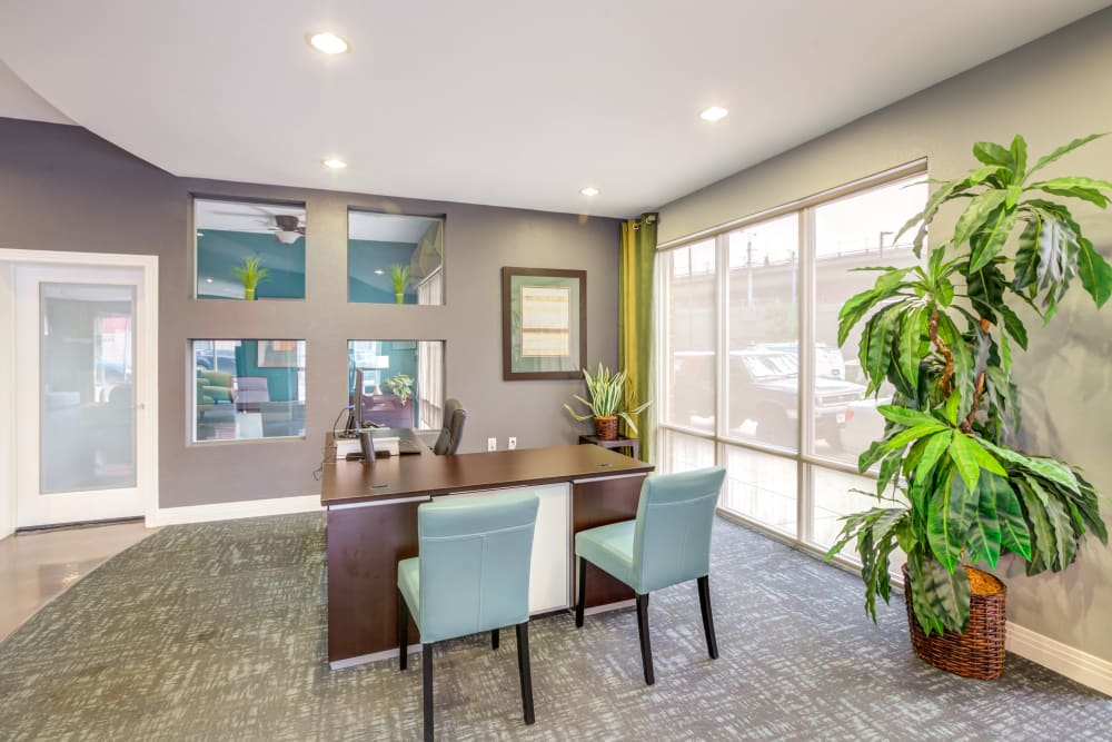 Leasing Office at Diamond at Prospect Apartments in Denver, CO