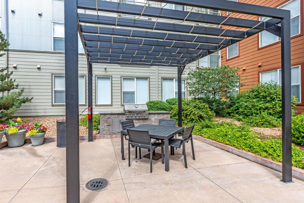 BBQ Area at Diamond at Prospect Apartments in Denver, Colorado