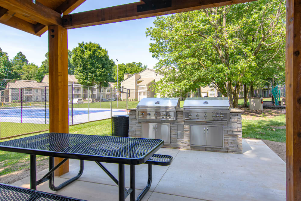 Our Apartments in Midlothian, Virginia offer an Outdoor BBQ Area