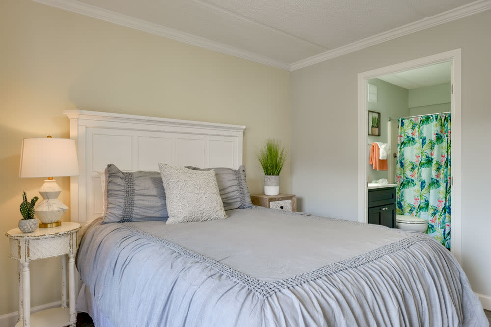 Bedroom model at Grand Villa of Clearwater in Florida