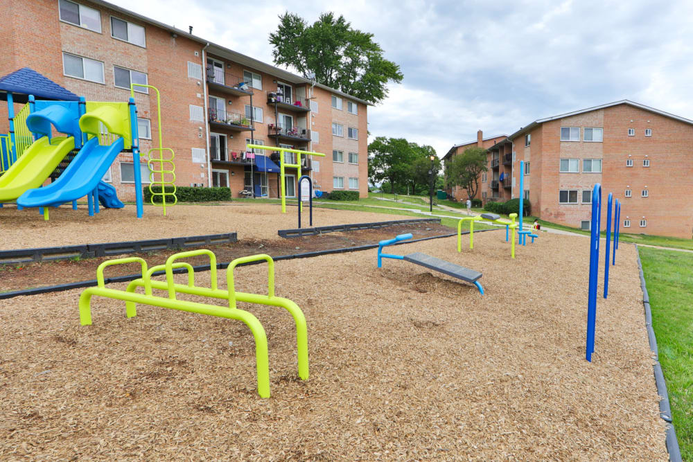 Playground at Bennington Crossings Apartment Homes in Alexandria, Virginia