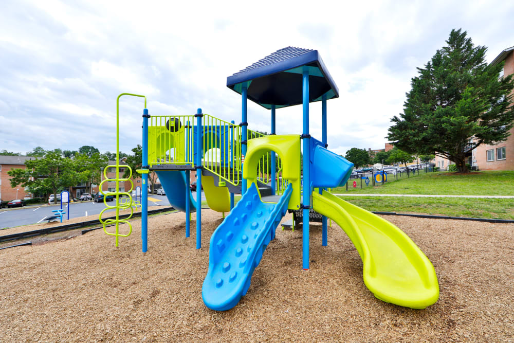 Enjoy Apartments with a Playground at Bennington Crossings Apartment Homes