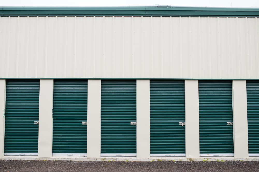 Small, medium and large storage units are available at Apple Self Storage - Aurora in Aurora, Ontario
