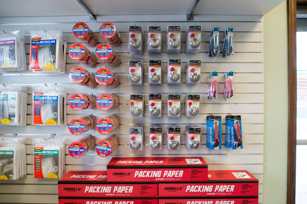 Packing supplies available at Apple Self Storage - Aurora in Aurora, Ontario