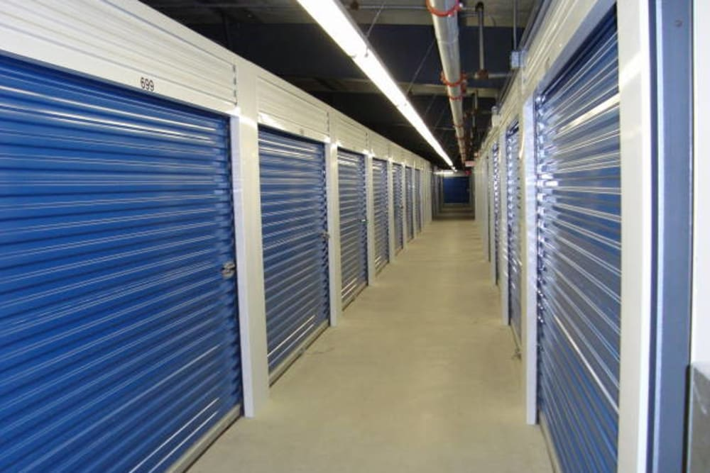 Indoor storage units at Apple Self Storage - Fredericton in Fredericton, New Brunswick