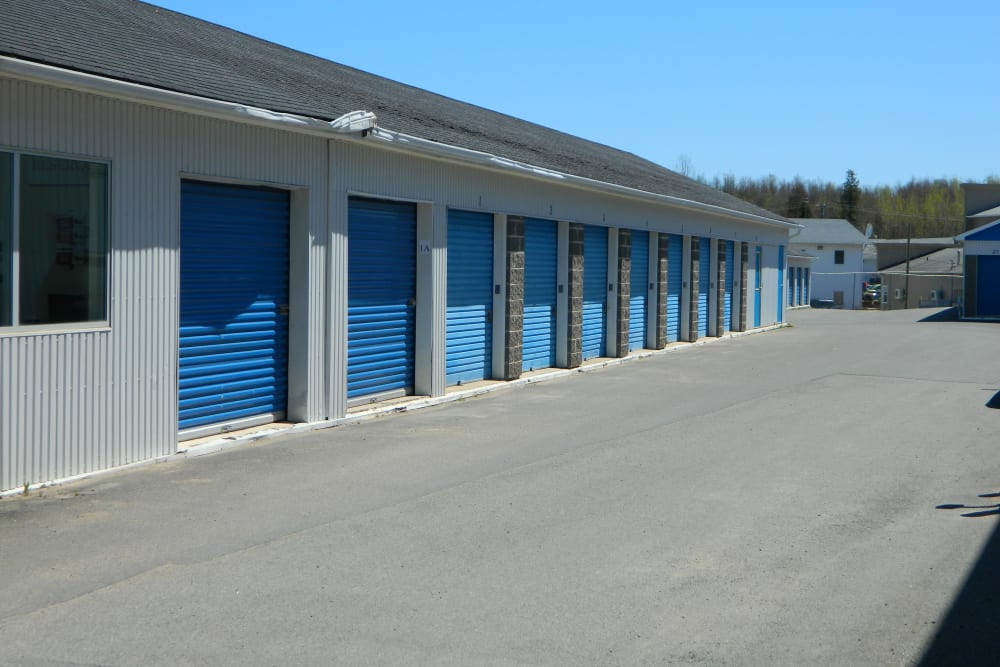 Outdoor storage units at Apple Self Storage - Fredericton in Fredericton, New Brunswick