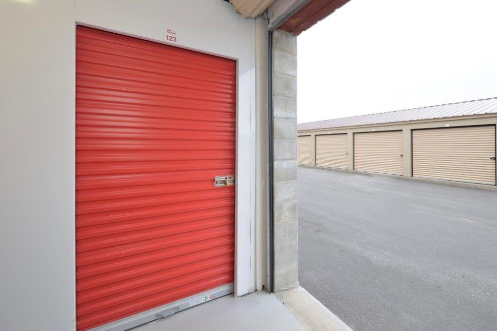Large loading door at Apple Self Storage - Kingston in Kingston, Ontario