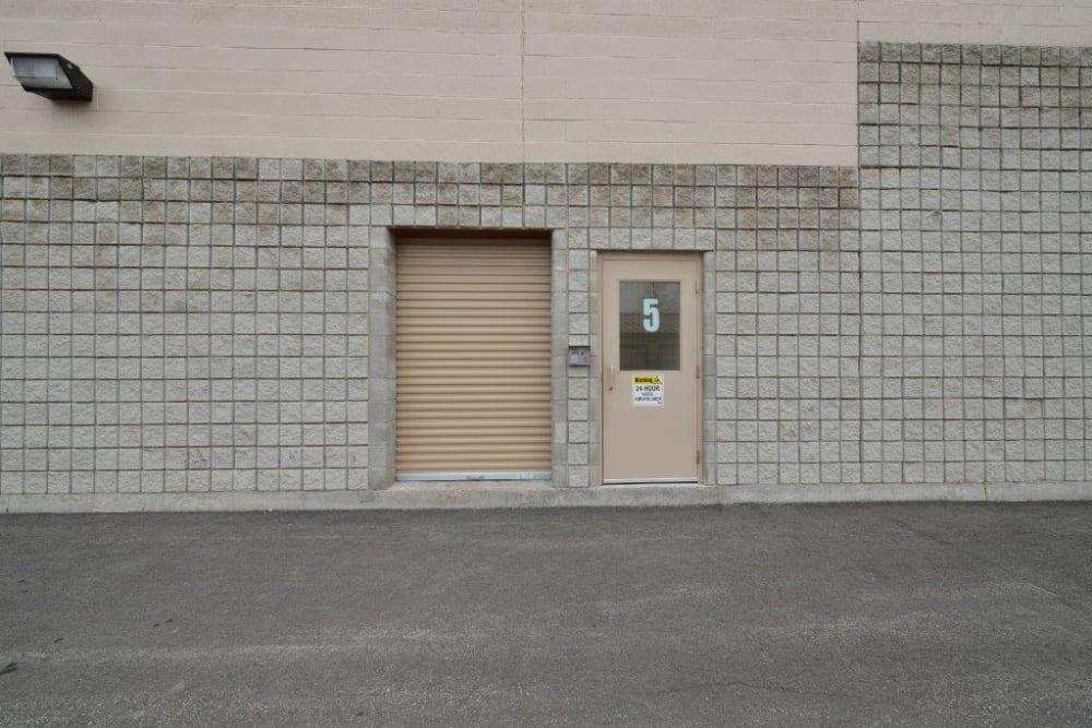 Doorway at Apple Self Storage - Kingston in Kingston, Ontario