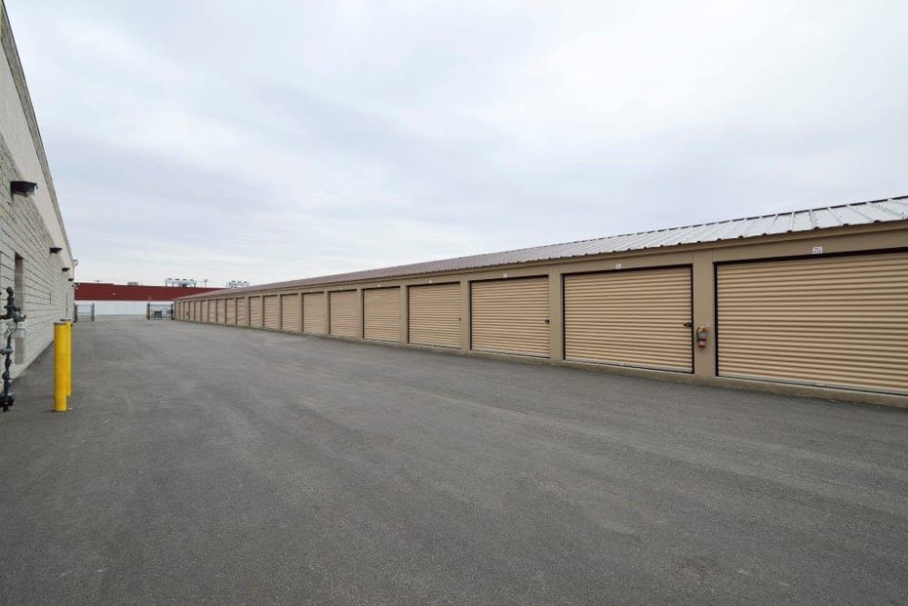 Outdoor storage units at Apple Self Storage - Kingston in Kingston, Ontario