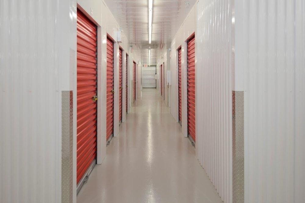 Apple Self Storage - Kingston in Kingston, Ontario, interior storage units