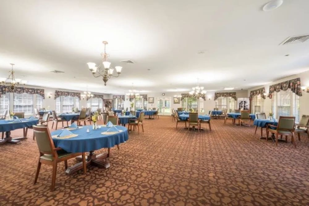 Community center at Briar Glen Alzheimer's Special Care Center in Hoover, Alabama