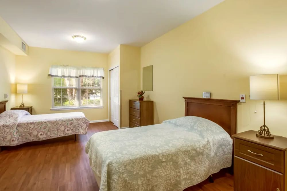 Two Bedroom example at Floral Creek Alzheimer's Special Care Center in Yardley, Pennsylvania