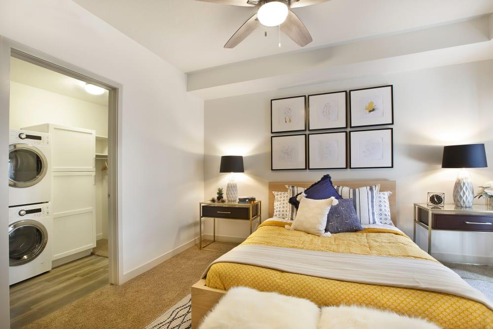 Master bedroom at Liberty Blvd