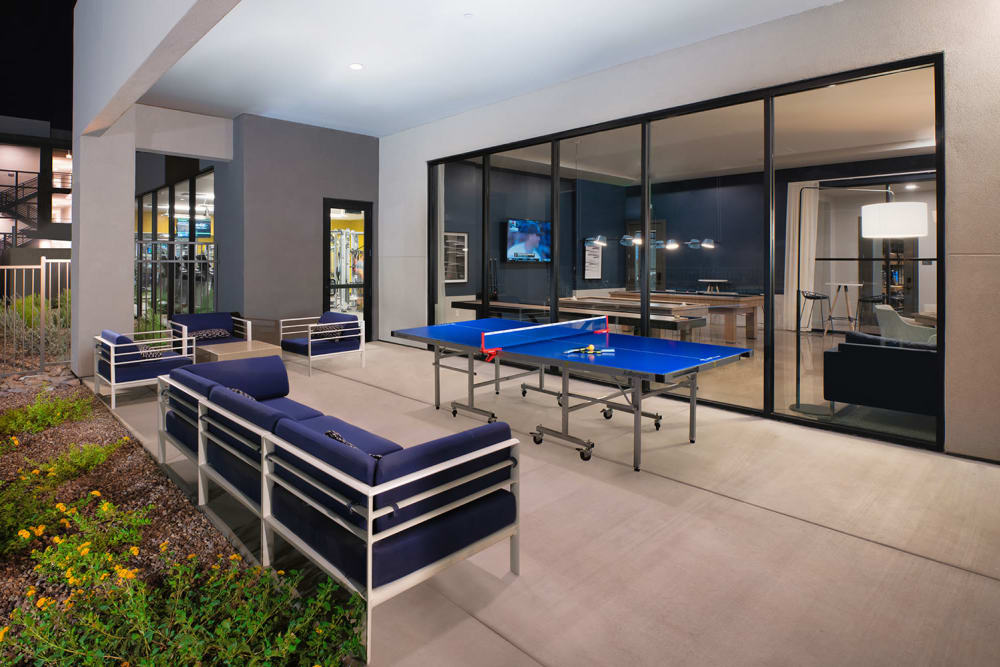 Enjoy an Outdoor Lounge at Sky at Chandler Airpark in Chandler