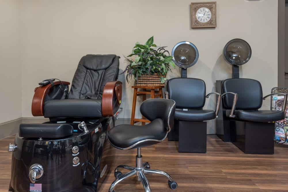 The salon at Watercrest at Katy in Katy, Texas