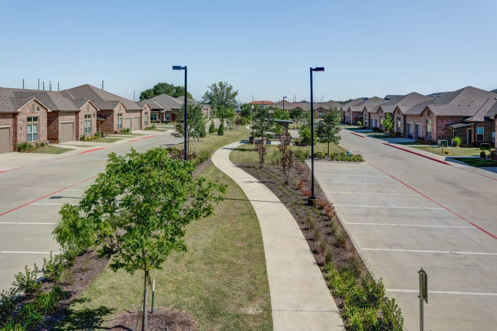 The neighborhood at Watercrest at Katy in Katy, Texas