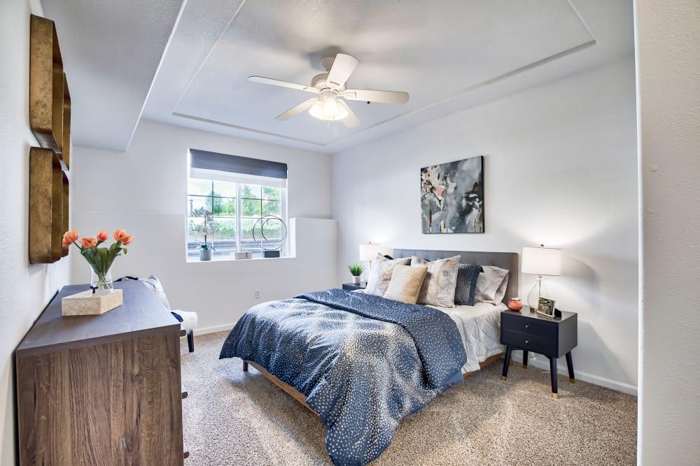 Spacious Bedroom at Vistas at Stony Creek Apartments in Littleton, Colorado