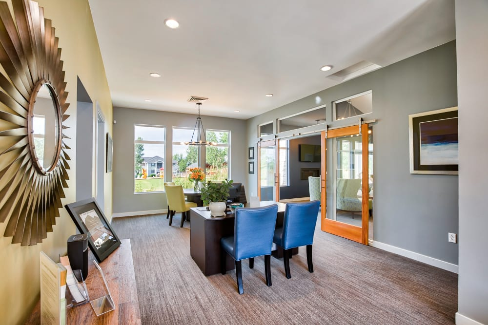 Leasing Office at Vistas at Stony Creek Apartments in Littleton, CO