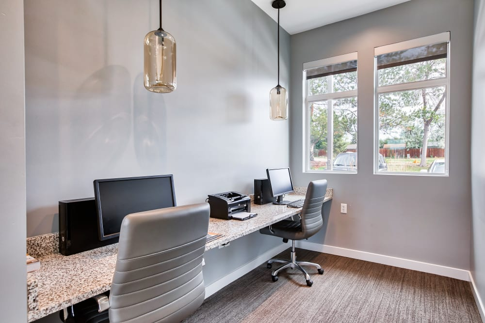 Our Apartments in Littleton, Colorado offer a Business Center