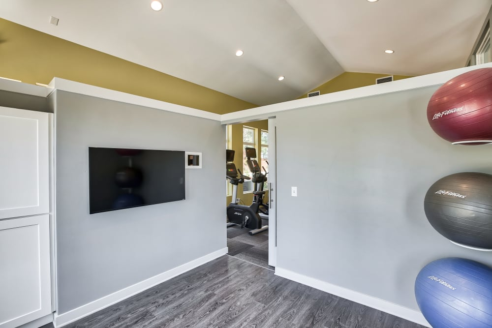Our Apartments in Littleton, Colorado have a Yoga Studio