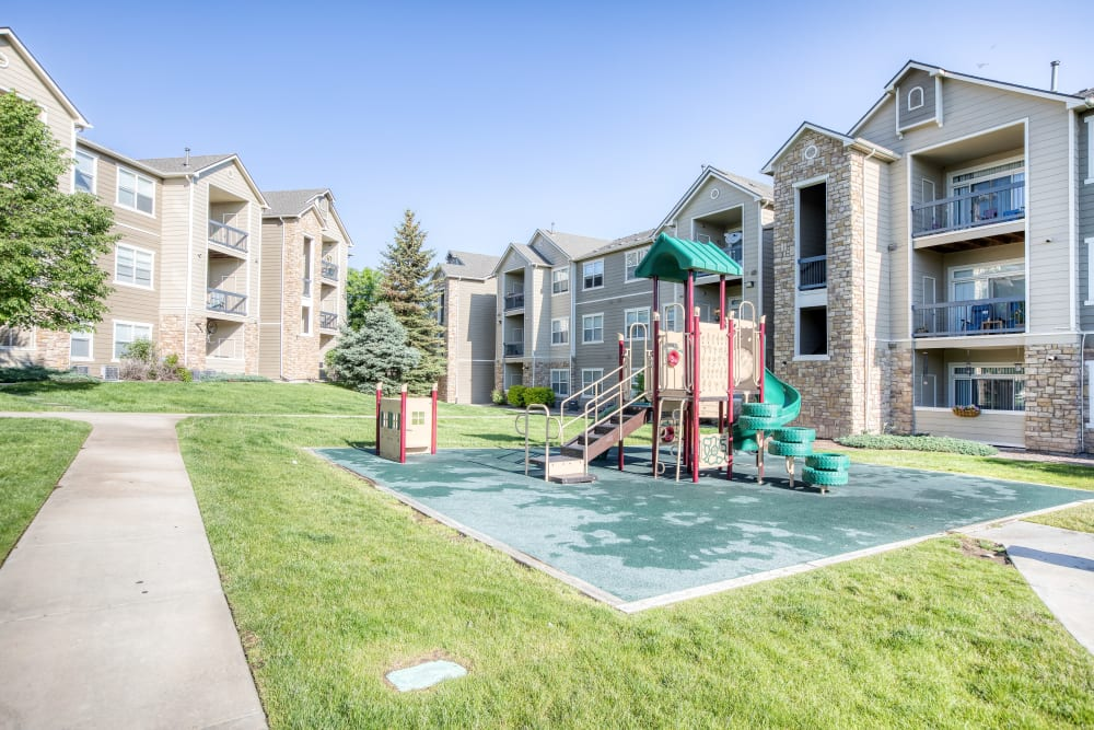 Playground at Reserve at South Creek in Englewood, Colorado