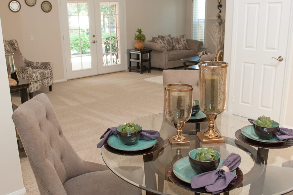 Front foyer at Westmont Village in Riverside, California