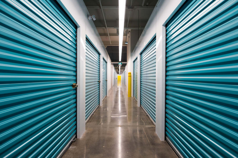 Apple Self Storage - Mississauga - Erindale in Mississauga, Ontario, interior storage units