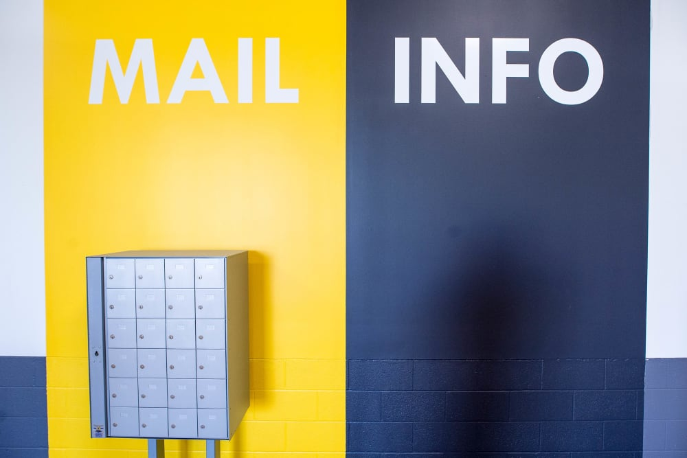 Mail and info at Apple Self Storage - Mississauga - Erindale in Mississauga, Ontario
