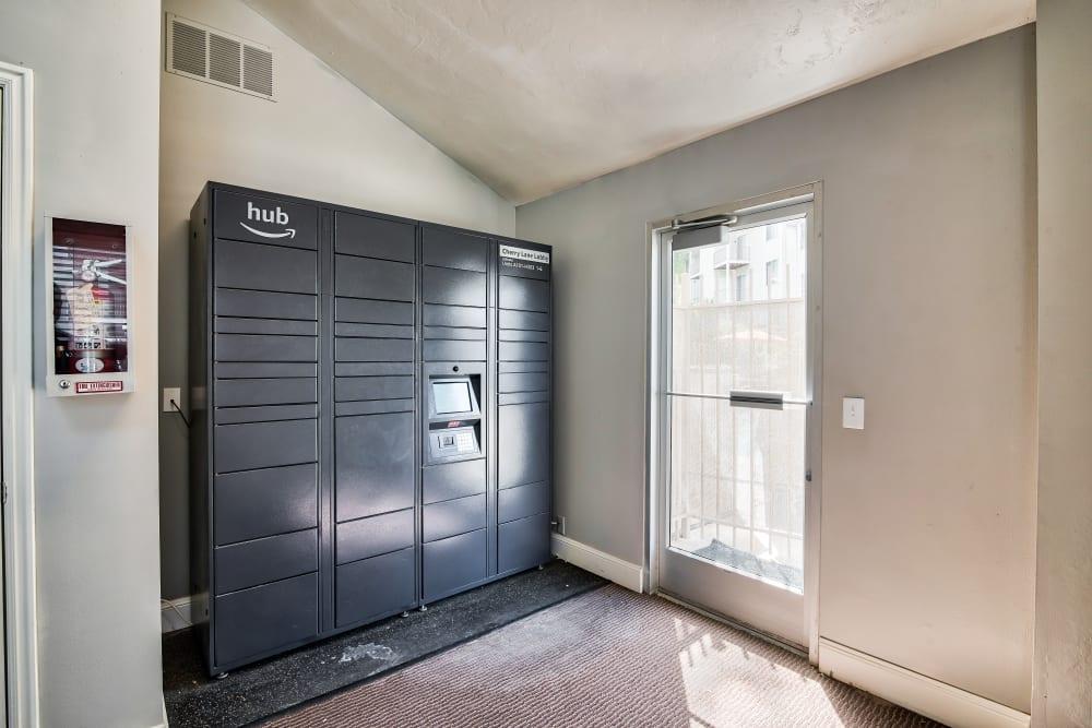 Package Lockers at Cherry Lane Apartment Homes in Bountiful, Utah