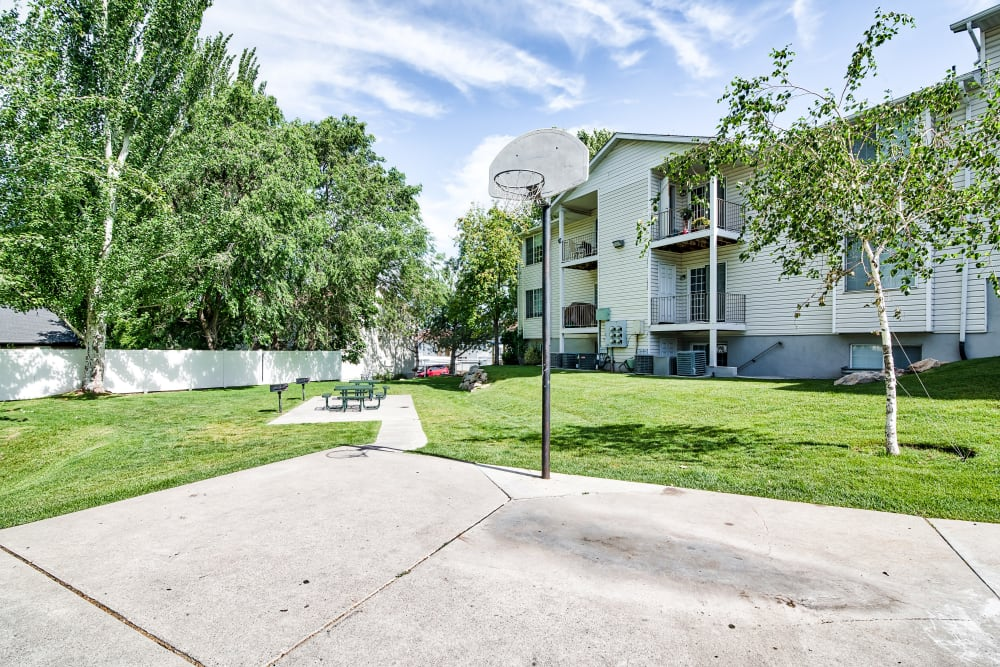 Our Apartments in Bountiful, Utah have a Basketball Court