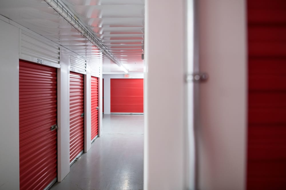 Inside of Apple Self Storage - Newmarket in Newmarket, Ontario