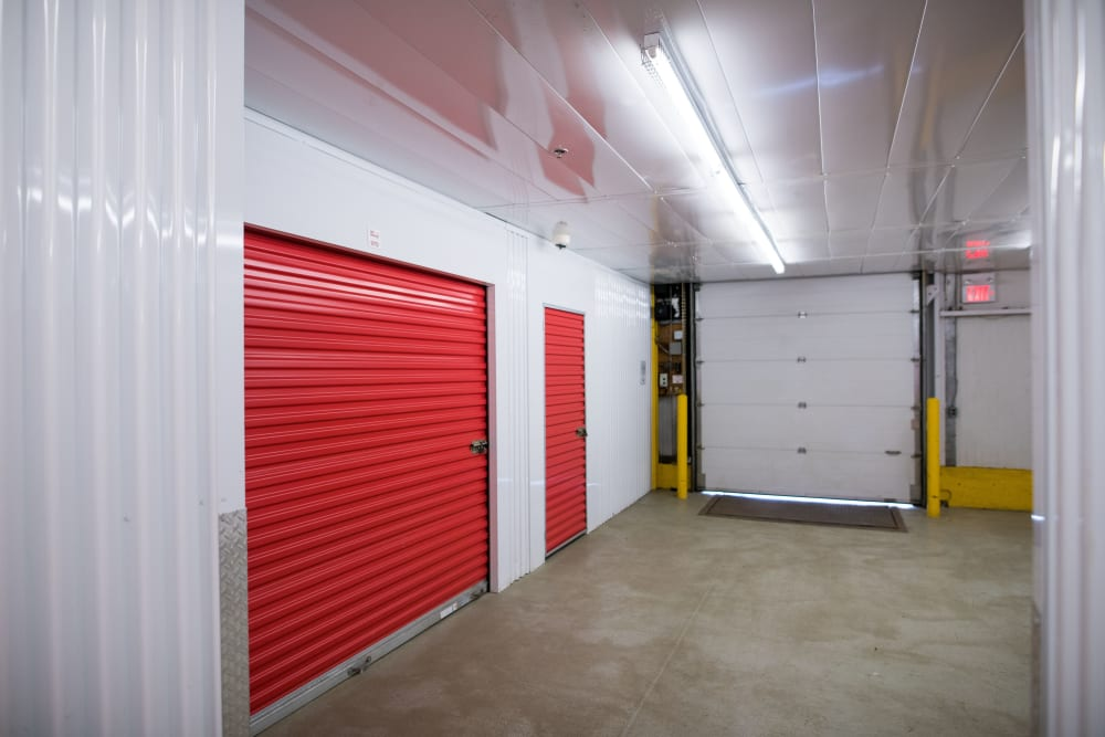 Large loading doors at Apple Self Storage - Newmarket in Newmarket, Ontario