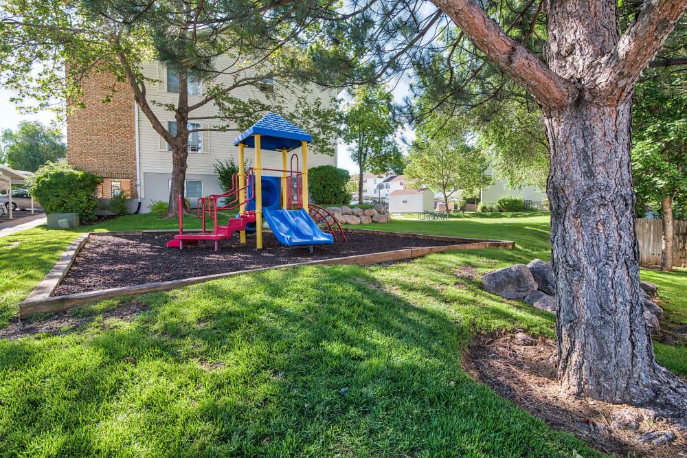 Playground at Cherry Lane Apartment Homes in Bountiful, Utah