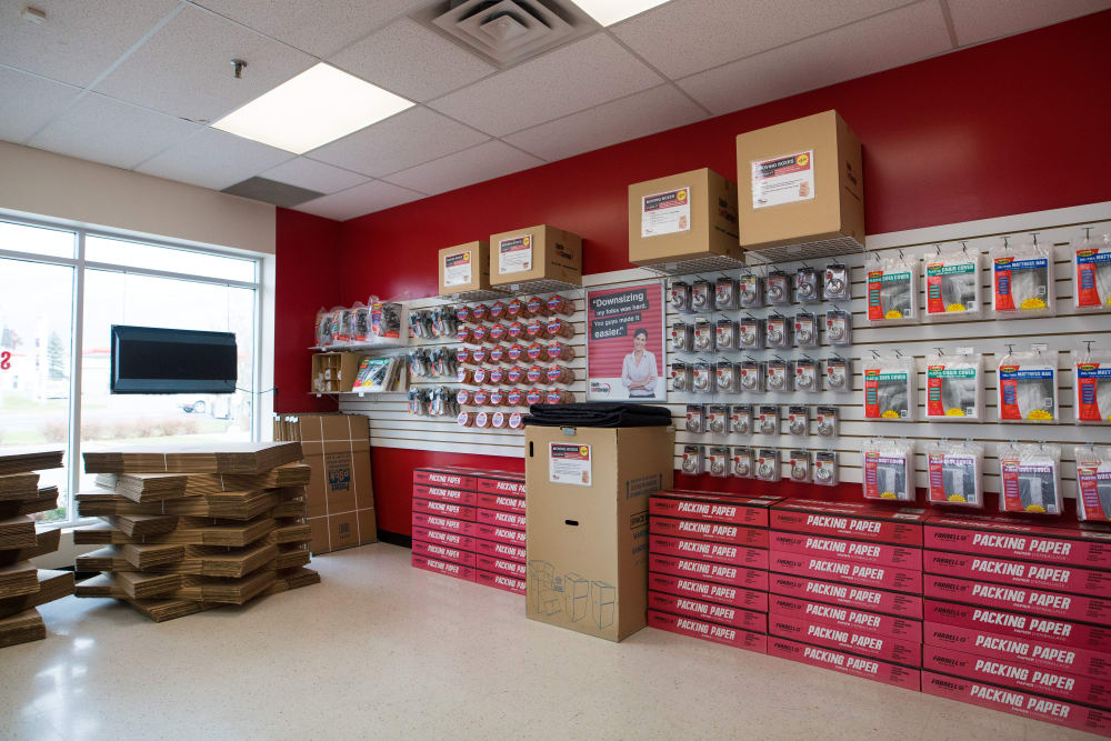 Packing and moving supplies at Apple Self Storage - Newmarket in Newmarket, Ontario