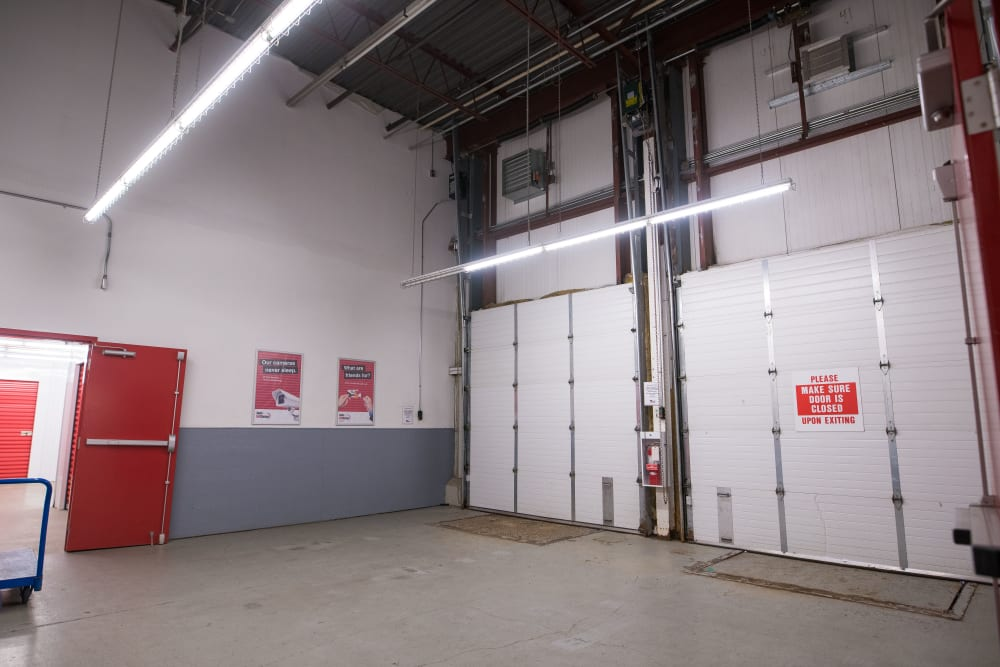 Apple Self Storage - Newmarket in Newmarket, Ontario, large loading doors