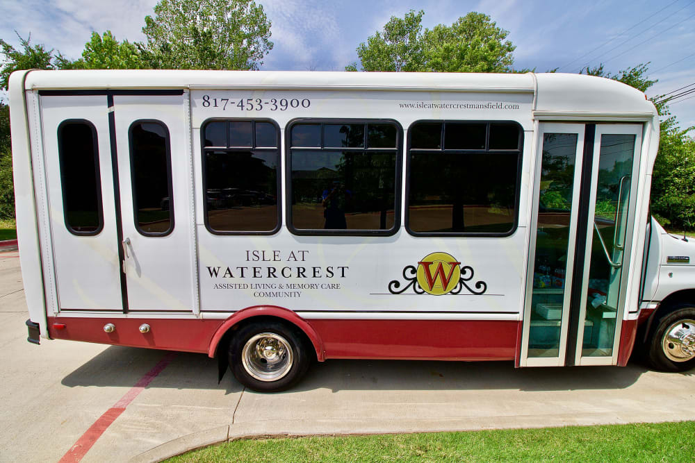 Transportation for Isle at Watercrest Mansfield in Mansfield, Texas