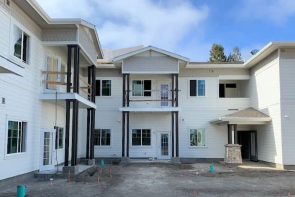building construction at Clearwater at Sonoma Hills