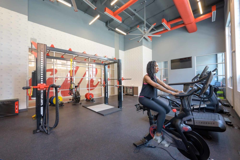Fitness center at Alta Dairies