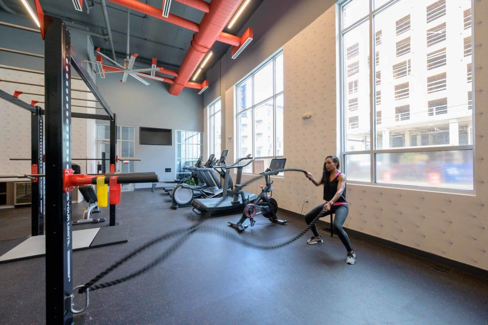 Alta Dairies offers a fitness center