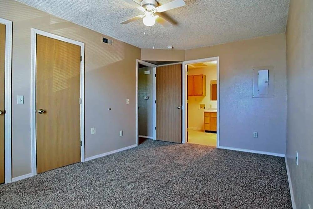 Bedroom area at Chapel Ridge in Norman, Oklahoma