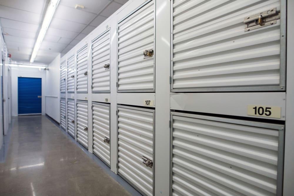 Small units at Weston Self Storage in Toronto, Ontario