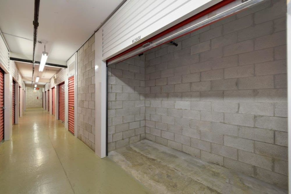 Loading area at Centron Self Storage in North York, Ontario