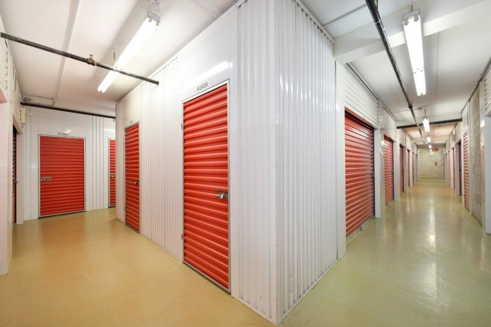 Storage units in a variety of sizes at Centron Self Storage in North York, Ontario