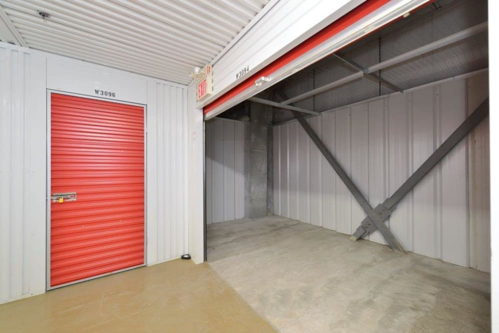 Loading door at Centron Self Storage in North York, Ontario