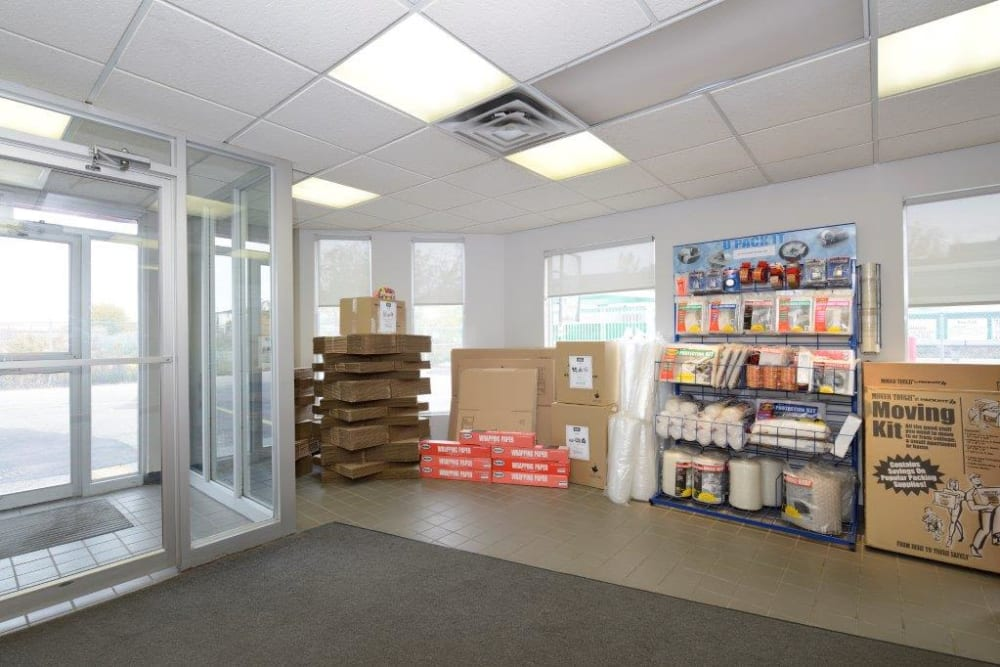 Supplies at Apple Self Storage - Toronto - Danforth in Toronto, Ontario
